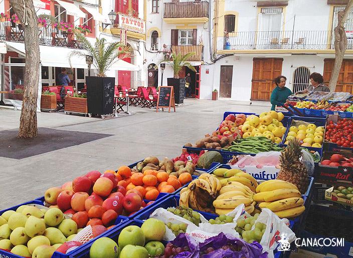Lieux tournage Marchés couverts et de rues Ibiza Formentera. Canacosmi.