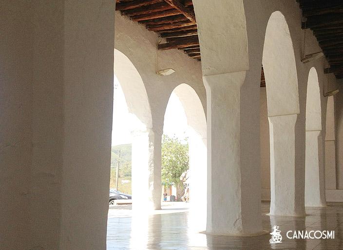 Lieux tournage Monuments Ibiza Formentera. Canacosmi.